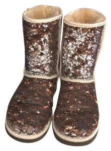 UGG Australia Cream, brown, silver, copper Boots
