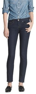 J.Crew Soft Stretchy Mid-rise Ankle Skinny Jeans-Dark Rinse