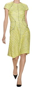 Lela Rose short dress Yellow Burberry Chanel Victoria Beckham Issa Tory Burch on Tradesy