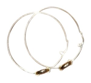 Gucci Gucci Horsebit Hoop Earrings in 18K Gold