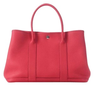 Hermès Garden Party 36 Tote in Red