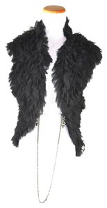 Thomas Wylde Ruffled Frayed Silk Vest