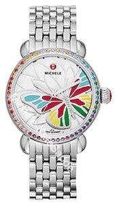Michele NW Garden Party Topaz Multi, Diamond Butterfly Watch MW05D37A1997