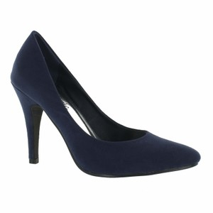 Red Circle Footwear Navy Pumps