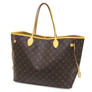 Louis Vuitton Gm Gm Tote in Brown