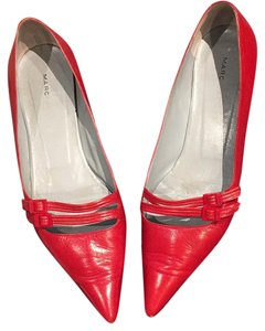 Marc Jacobs Red Flats