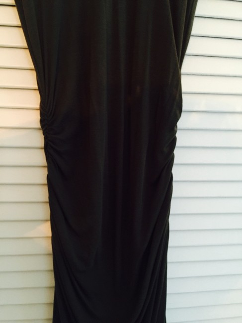 BROWN Maxi Dress by James Perse Tencel Ruching Sexy