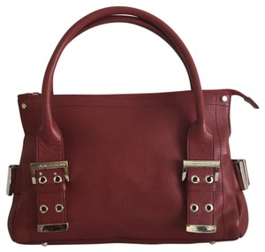 Charles David Satchel in Burgundy