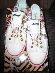 Ed Hardy White Athletic