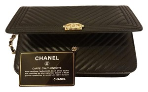 Chanel Leather Lambskin Cross Body Bag