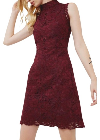 446e68daaef1 Ted Baker Oxblood Latoya High Neck Lace Dress - 49% Off Retail cheap ...