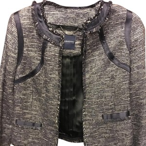 Magaschoni Tweed Chanel Fall Winter Grey Blazer