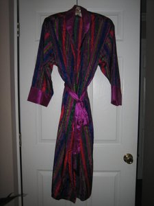 Victoria's Secret Long Satin Robe