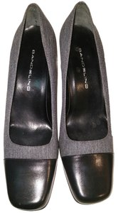 Bandolino Gray & Black Pumps