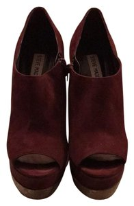 Steve Madden Wine Wedges