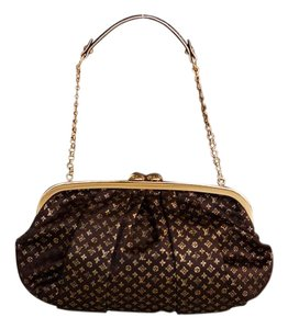 Louis Vuitton Special Edition Brown Gold Clutch