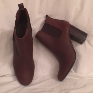 Tory Burch Leather New Nwot Ankle Brown Boots