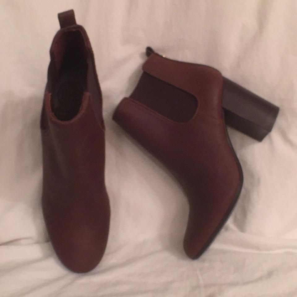 Tory Burch Disrtessed Brown New/Nwot Margaux Java Disrtessed Burch Leather Boots/Booties f18241
