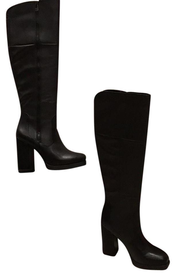 Sam Edelman Edelman Sam Black High Knee Boots/Booties d7fd47