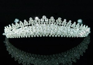 Sparkling Chic Austrian Crystals & Swarovski Crystal Beads Wedding Bridal Tiara Headband