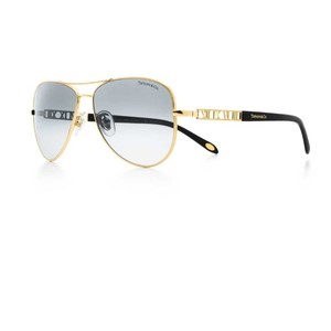Tiffany & Co. Atlas 18k Gold Aviators