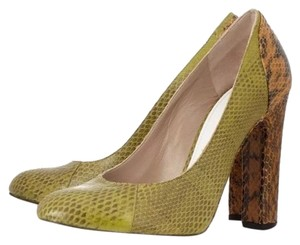 Chloé Olive green and brown Pumps