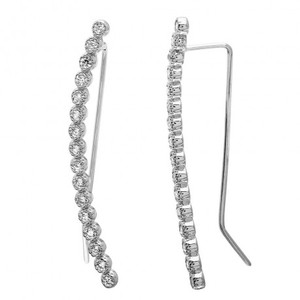 Trendy Earring with Cubic Zirconia
