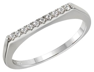 Other Stackable Flat Top CZ Ring