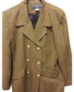 Norton McNaughton Coat Jacket Business Brown Blazer