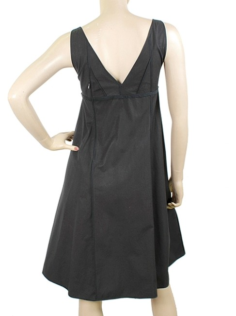 Narciso Rodriguez A-line Stitched Evening Cotton Structured Dress