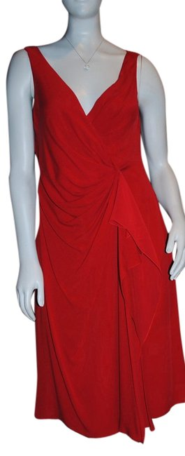 Preload https://item1.tradesy.com/images/valentino-poppy-red-knee-length-cocktail-dress-size-12-l-1987940-0-2.jpg?width=400&height=650