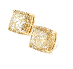 Kate Spade NEW Kate Spade New York MINI Glitter Studs in Gold/Opal 12k Gold