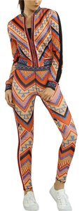Jealous Tomato Skinny Legging Aztec Set Athletic Pants Multi
