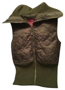 Vanity Quilted Knit Vest