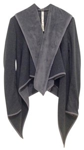 Lululemon Wrap Asymetrical Gray Jacket
