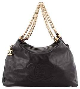 Chanel Lambskin Hobo Bag