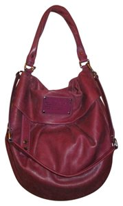 Marc by Marc Jacobs Leather Crossbody Hobo Bag