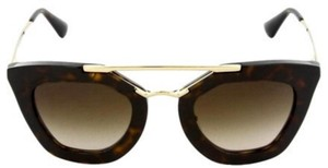 Prada NEW! PRADA CINEMA CAT EYE HAVANA SUNGLASSES SPR 09Q