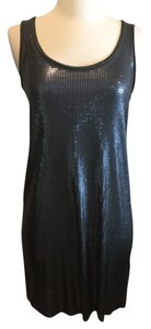 Vince short dress Silver Sequin on Tradesy