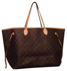 Louis Vuitton Artsy Gm Neverfull Tote in Monogram