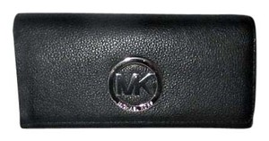 Michael Kors MICHAEL Michael Kors Fulton Leather Carryall Flap Wallet $148 Black
