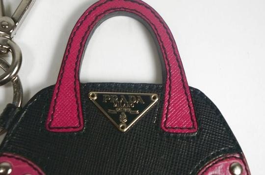 Prada Satchel in black / red