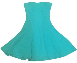 Body Central short dress Green on Tradesy