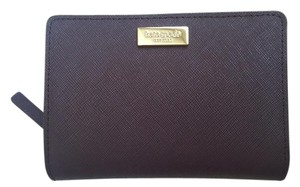 Kate Spade NEW Kate Spade Saffiano Leather coin purse wallet Dark Wine Red