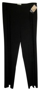 Milly of New York Wide Leg Pants Black