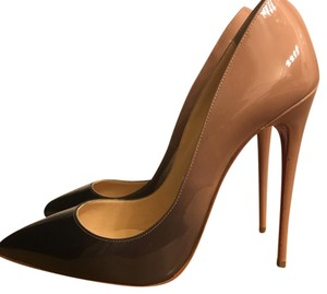 Christian Louboutin Beige 120 So Kate Degrade Platforms