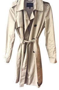 Banana Republic Trench Coat Khaki Jacket