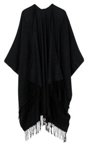 ASOS Pieces Black Oversized Blanket Wrap