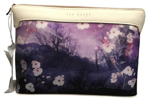Ted Baker Ted Baker XL Wash Bag NWT-Misty Mountains 15-Mid Blue 125794