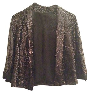 Urban Behavior Sequin Black Blazer